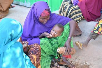 旱災導致患嚴重急性營養不良的索馬裏兒童大幅增加