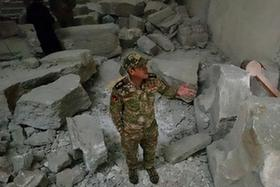 """摩蘇爾博物館遭""""伊斯蘭國""""嚴重破壞"""