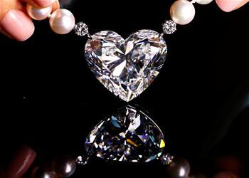 佳士得將拍賣鑽石項鏈