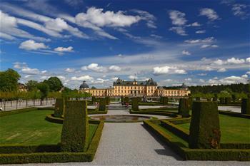"""""""北歐18世紀皇宮的最佳典范""""——瑞典德羅特寧霍姆宮"""