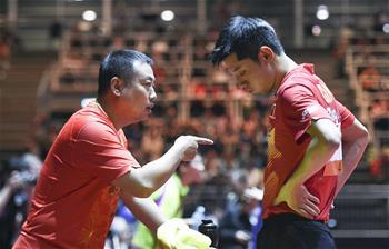 世乒賽男單:張繼科無緣16強