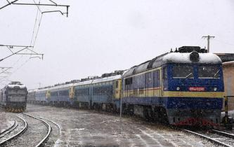 內蒙古甘肅等地出現降雪