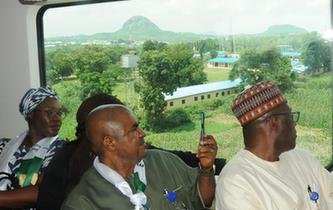 西非地區首條城鐵開通