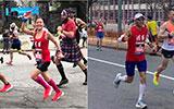 40位清华校友完赛波士顿马拉松赛
