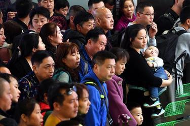 廣州南站將迎來客流高峰