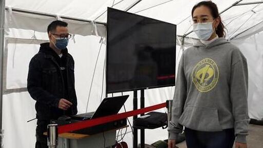 北京:高三年級舉行試開學演練[組圖]
