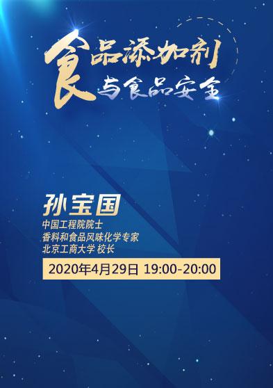 [北京工商大學]孫寶國:食品添加劑與食品安全
