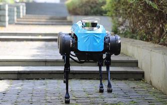 """新一代""""絕影""""四足機器人發布 具備跑步及上下臺階能力"""
