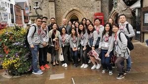 華理商學院2019海外遊學項目圓滿完成
