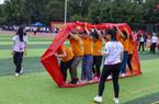 华广举办教工趣味运动会