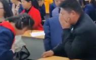 小学生教室表演手舞看哭爸妈 这堂课为何这么感人?