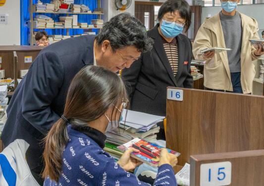 華南理工大學廣州學院領導為考研學子加油助力