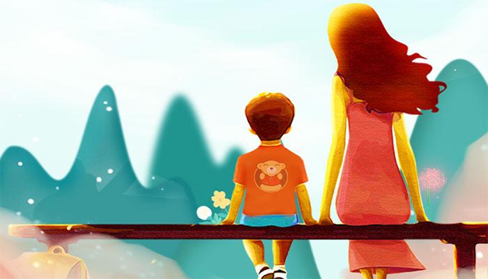 [母亲节海报]妈妈,您在我心里永远年轻