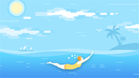 """要求學生學會遊泳,海南這份作業值得""""抄"""""""