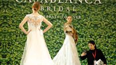 中外婚紗禮服上海爭艷