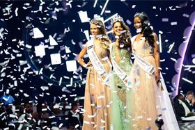 21歲女孩當選2017年南非小姐